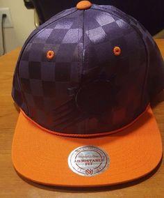 new products 754dd 8ddb1 Phoenix Suns Mitchell and Ness NBA Upfield Snapback Cap