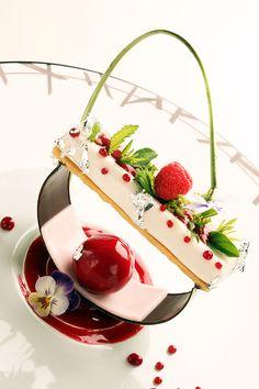 dessert at Relais Chateaux