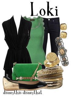 Avengers: Loki style outfit :) Good idea? #avengers #loki
