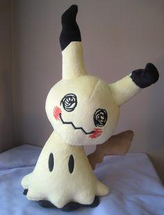 Mimikkyu Mimikyu Handmade Pokemon Plush by GearCrafts on Etsy