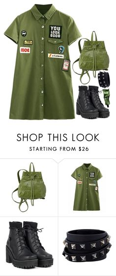 """""""-"""" by emilypondng ❤ liked on Polyvore featuring Valentino and Aesop"""