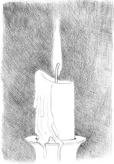 how to draw a candle and flame fig05