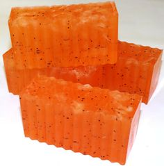Anise and Orange Soap with Poppy and Jojoba by NaturesPurityBath