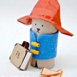 Paddington Bear Crafts - TP Roll Bear & Matchbox