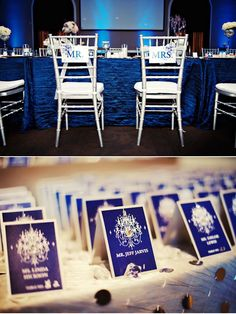 Love the cobalt blue with white