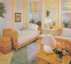 For a trip down 80's Home-Decor-Lane, you MUST read this blog. LOL!