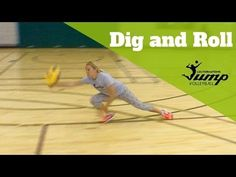 How to roll and dig every ball without hurting yourself - Volleyball Tip of the Week #33 - YouTube