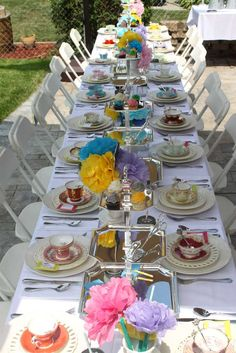 A tea party for a bride to be (Drink up Alice!) Tea Party Party Ideas | Photo 34 of 37