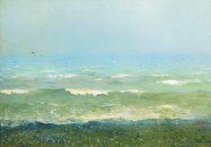 Левитан.Берег Средиземного моря1890Холст, масло41 x 59Государственная Третьяковская галерея