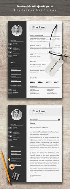 If you like this cv template. Check others on my CV template board :) Thanks for sharing! Microsoft Word, Creative Cv Template, Corporate Design, Corporate Style, Resume Design, Identity Design, Design Corporativo, Design Jobs, Logo Design