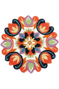 The Alicia Rug I - Artful and bold tones to play up your home