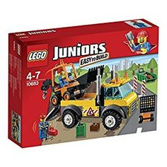 LEGO 10683 Juniors Road Work Truck: LEGO: Amazon.co.uk: Toys & Games
