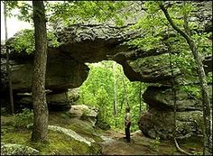 Seven Hollows Trail - Petit Jean State Park - Arkansas Hiking Trails