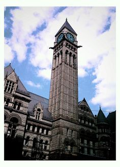 Old City Hall, Toronto Toronto Architecture, Amazing Architecture, Urban Beauty, Old City, Empire State Building, Ontario, Big Ben, Canada, Inspirational