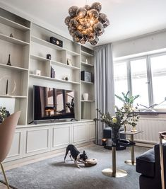 House Design, Interior, Home, House Interior, Home Office Design, Home Deco, Built In Bookcase, Living Room Tv Unit Designs, Living Room Designs