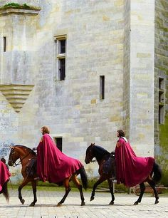 oh to be a knight and ride a horse with a cape