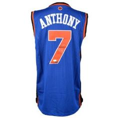 6ce92fe082c Carmelo Anthony Autographed Jersey - JSA Certified - Autographed NBA Jerseys   Disclosure  affiliate link