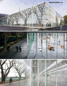 13 tòa nhà kính lông lẫy trên thế giới