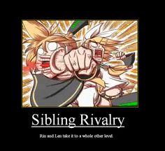 Sibling Rivalry Motivational by nekorandomnessqueen.deviantart.com on @deviantART