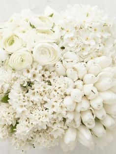 Love all white and green