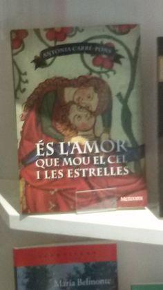 """""""És l'amor que mou el cel i les estrelles"""" de Antònia Carré-Pons. Meteora."""