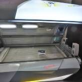 Salon tanning mattresses use quite strong bulbs and UV lighting from them gets rid of most germs. Even the regulation makes it necessary that salon tanning beds needs to be cleaned and disinfected following every use.
