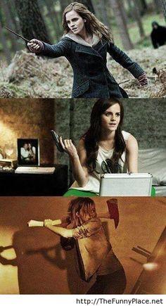 Emma Watson is cool