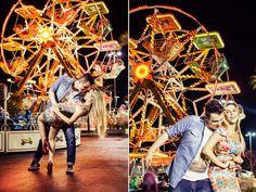 foto casamento em parque de diversão - Pesquisa Google