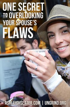 One Secret to Overlooking Your Spouse's Flaws ⋆ Ashleigh Slater Marriage Couple, Biblical Marriage, Marriage Relationship, Marriage And Family, Happy Marriage, Relationships Love, Marriage Advice, Love And Marriage, Healthy Relationships
