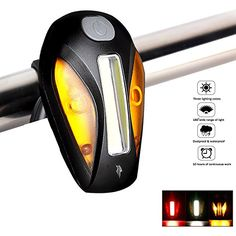 Bodyguard USB Bike Tail Light, Built -In Multi Purpose Clip, Fits All Bicycles or Backpack, Easy to Install (No Tools), Water Resistant, High Intensity LED,100% Satisfaction Guarantee! ** You can find out more details at the link of the image.