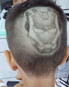 Iron man kids sem tinta   #ironman  #barbershopconnect  #barbergrind  #brasilbarbers  #brazilianbarbersteam  #eumandoocortedojaca  #barbersinctv  #barberartist  #kids  #arte  #barber  #nbastyles  #thebarberpost  #barbershop  #hair  #hairdo  #barbergame  #barberlife  #barberforlife  #barberfire  #barberlove  #barberlifestyle  #hairstyles  #bomdia by diegosouzabarber