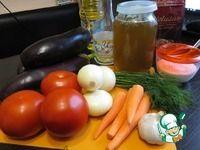 Баклажаны в медовом маринаде ингредиенты