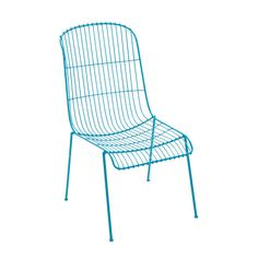 Add a pop of coastal color with metal outdoor chairs. | $139