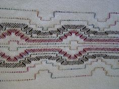 I am on number three. Dear Swedish Weaving Enthusiast, Welcome to the wonderful world of . Monks Cloth, Swedish Weaving, Embroidery Techniques, Cross Stitch, Places, Pattern, Travel, Dots, Swedish Sewing