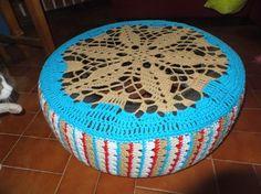 Trapilhos & Sarilhos - Experiências em Crochet: Cama de Gato Pneu