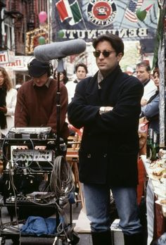 Andy Garcia on the set of The Godfather: Part III. Andy Garcia, Italian Gangster, Kramer Vs Kramer, Don Corleone, Godfather Movie, Robert Duvall, Actors Male, Marlon Brando, My Muse
