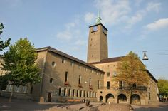 Town hall Enschede. Architect Friedhoff.