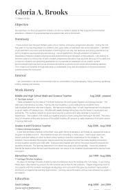 Math Teacher Resume Magnificent Resume Templates Teacher Examples High School Sample High School .