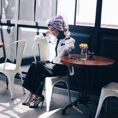 Photoshoot Hijab Fashion Moeslem