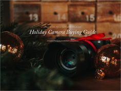 Camera Buying Guide|
