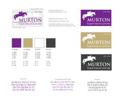 We created visual identity guidelines as part of the redesign project for Murton Equestrian Centre