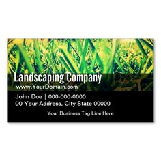 Free landscaping business card template psd free business card green black grass landscaping business card landscaping lawn service fbccfo Choice Image
