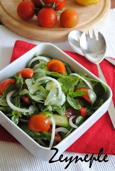 Nefis ve Pratik Tarifler: Nar Ekşili Semizotu Salatası