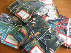 Paint-By-Number Paintings as Gift Wrap | MAKE: Craft