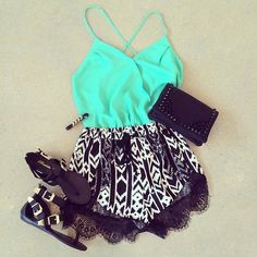 Summer Outfit- that top tho!