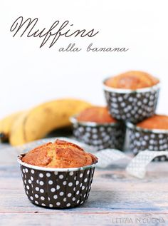 Letizia in Cucina: Muffins alla banana