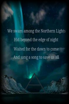 Northern Lights 30 Seconds To Mars