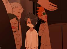 the promised neverland Izu, Ereri, Anime Demon, Manga Anime, Kawaii, Series Manga, South Park, Neverland, Haikyuu