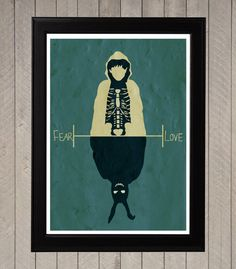 Movie poster, Art Print, Animation Poster. di Poster Island su DaWanda.com
