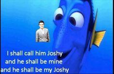 Haha. He shall be my joshy.
